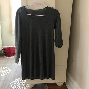 Eileen Fisher Grey Sweater Dress